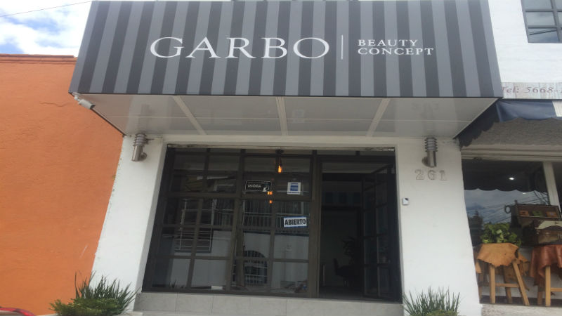 Garbo Beauty Concept